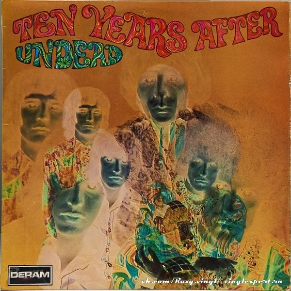 Обложка конверта виниловой пластинки Ten Years After - Ten Years After Undead