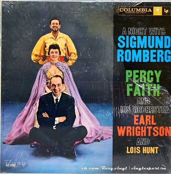 Обложка конверта виниловой пластинки Percy Faith & His Orchestra, Earl Wrightson, Lois Hunt - A Night with Sigmund Romberg